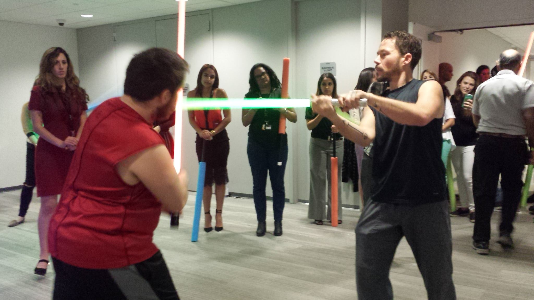 Chicas Poderosas: Empowering Women with Lightsabers