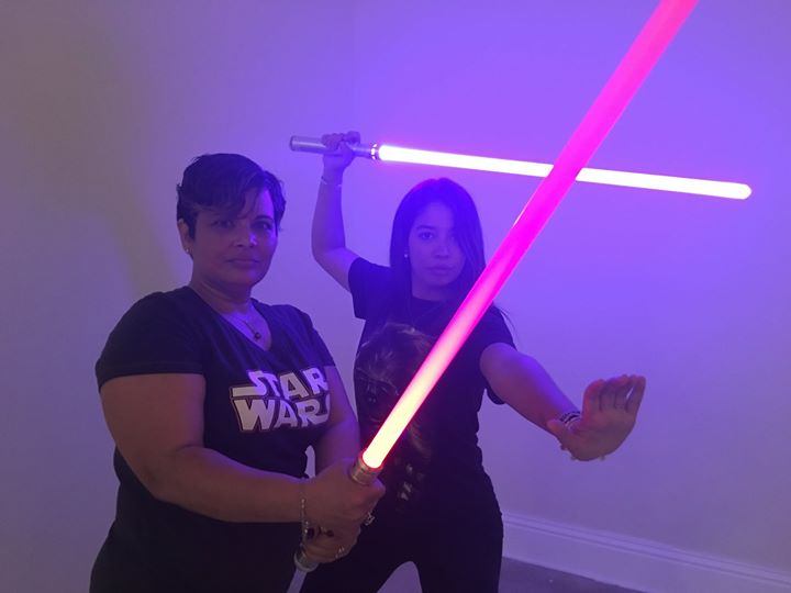 Geek Girls Brunch use the Force
