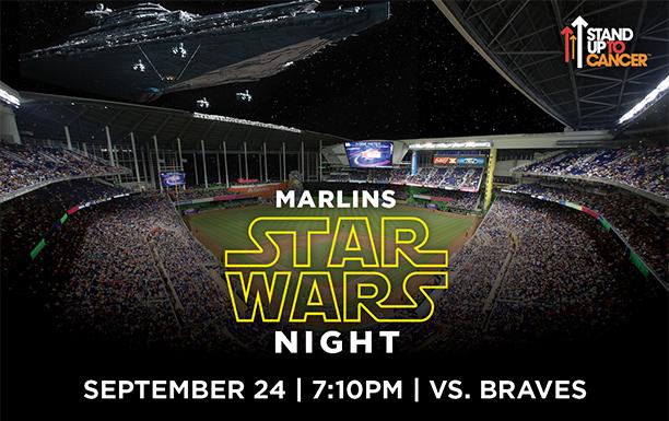 Miami Marlins Star Wars Night Promo