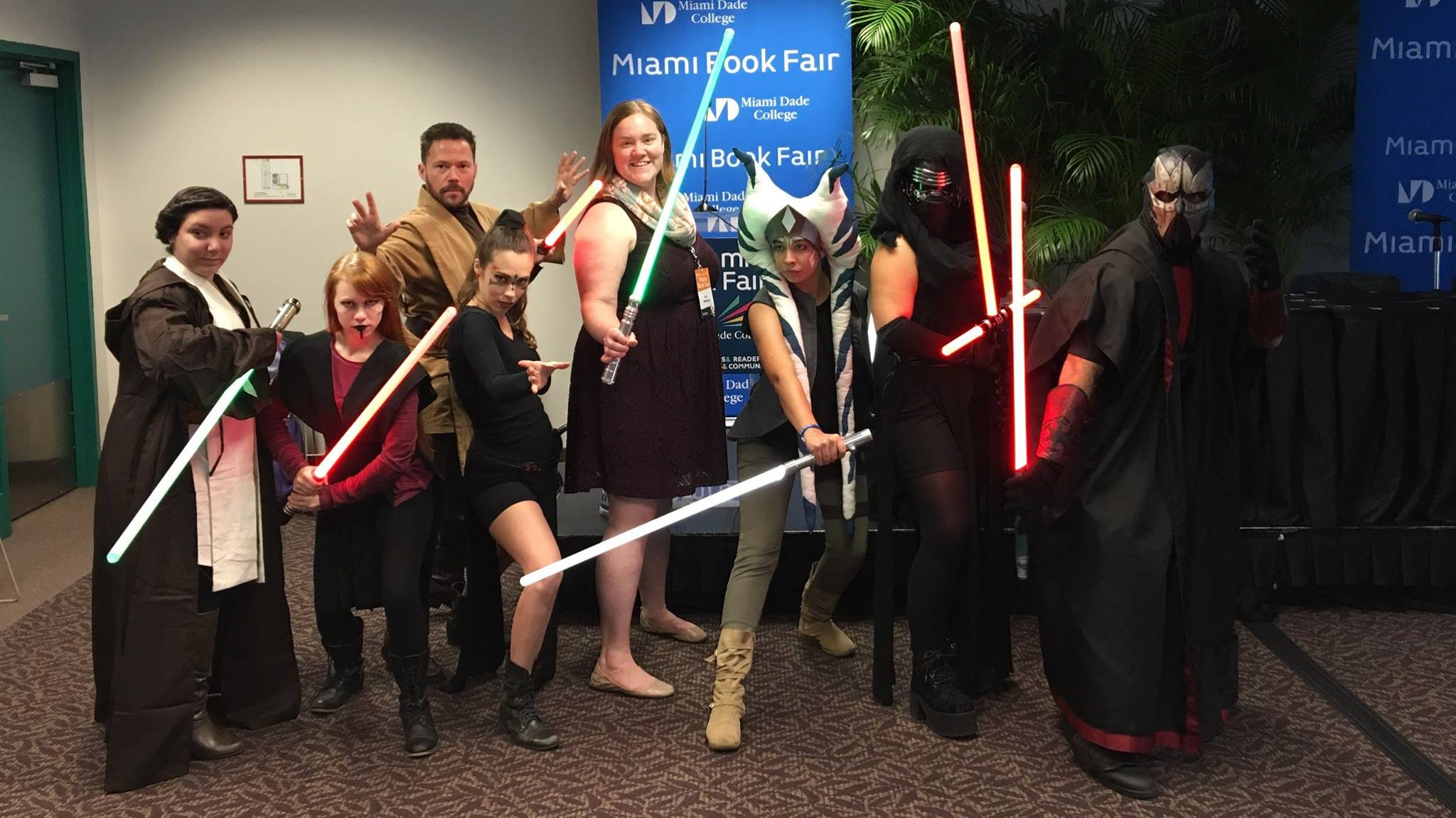 Miami Int. Book Fair: E.K. Johnston's Ahsoka Book Talk