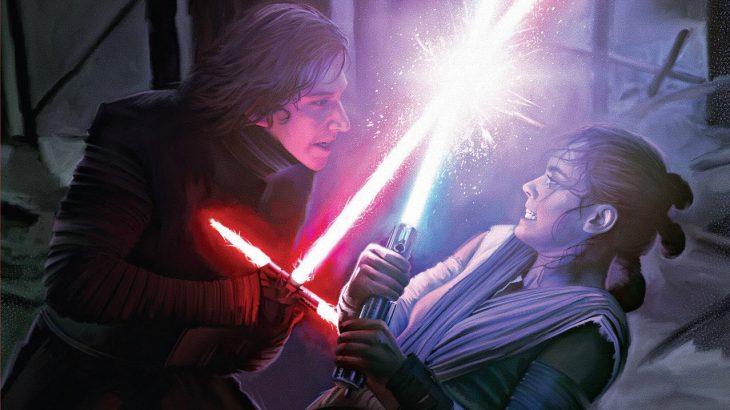 Kylo vs. Rey.